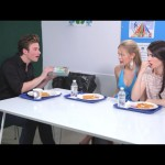 Cool Kids Table with guest, GLEE's Chris Colfer